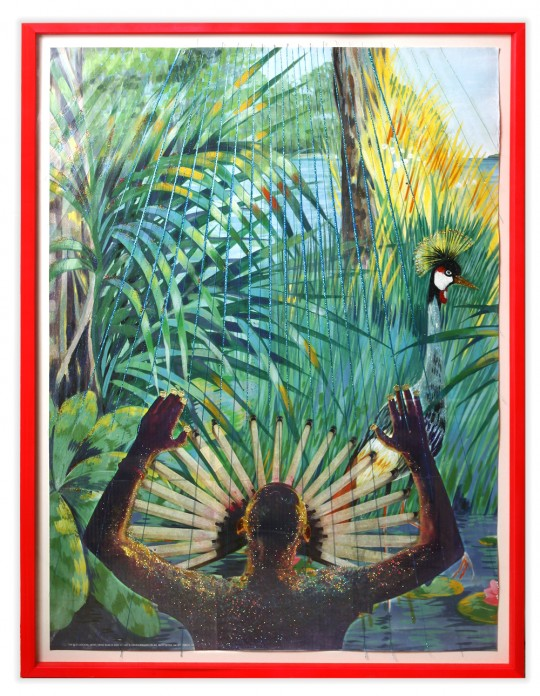 Self Portrait (with the jungle in the back)