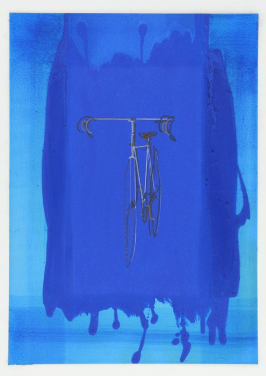 Bicycle iIn Blue