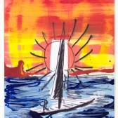 Sun and Boat no. 27