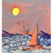 Sun and Boat no. 38