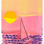 Sun and Boat no. 25