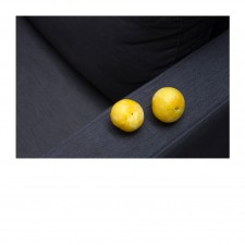 Two yellow plums