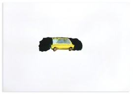 (Childhood playground (yellow car
