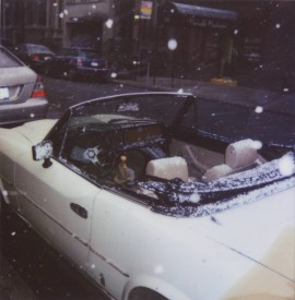 Car in the snow (from the Otherlife series)