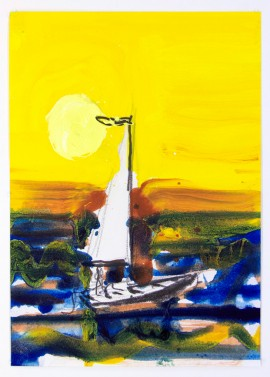 Sun and Boat no. 32