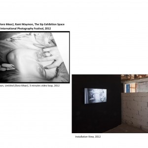 Untitled (Dora Maar), Rami Maymon, The Sip Exhibition Space,Phtotgraphy Festival, 2012-page-001